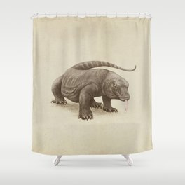 Komodo Shower Curtain