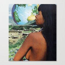 Le Monde Canvas Print