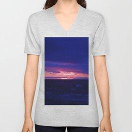 Purple Twilight Unisex V-Neck