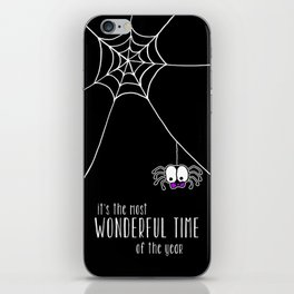 Halloween - it's the most wonderful time of the year iPhone Skin