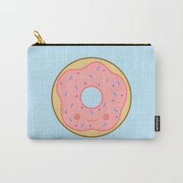 Yummy pink kawaii doughnut Carry-All Pouch