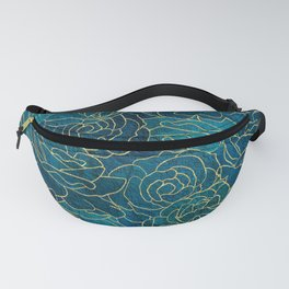 ABSTRACT FLORAL 6 Fanny Pack