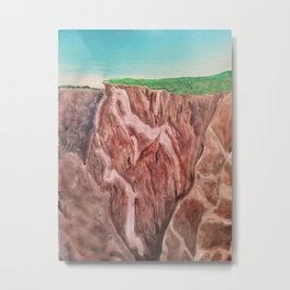 Black canyon dragon Metal Print
