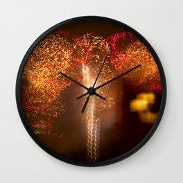 Brooklyn Fireworks, Huge firework display in NYC Wall Clock