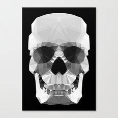 Polygon Heroes - Crystal Skull Canvas Print