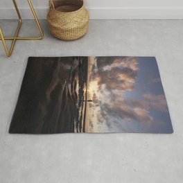 Watching the Sun Rise Rug