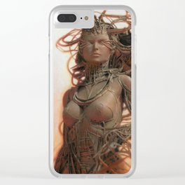 Gynoid IV Clear iPhone Case