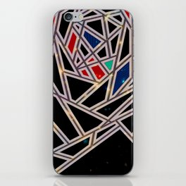 Black Triangle Puzzles iPhone Skin
