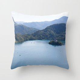 Lake Bliss Throw Pillow