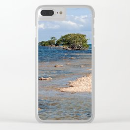 Biscayne Bay South Florida Clear iPhone Case