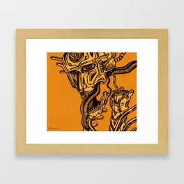 Choronzon Framed Art Print