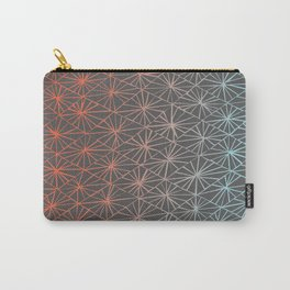 Gray Diamonds Carry-All Pouch