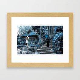 JAPANESE INSPIRATION 02 Framed Art Print