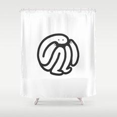 babble Shower Curtain