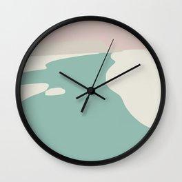 Minimalist beach Wall Clock