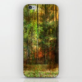 Autumn Sunset - In The Woods iPhone Skin