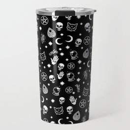 Witch Occult Pattern Travel Mug