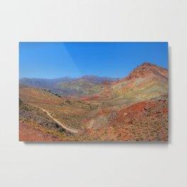 Titus Canyon Metal Print
