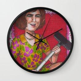 Domestic Goddess Wall Clock