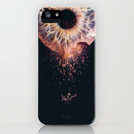 Everything is an illusion iPhone Case