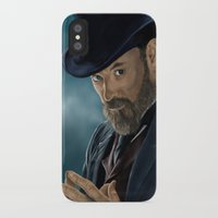 moriarty iPhone & iPod Cases featuring Professor Moriarty by San Fernandez