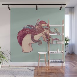 Hand Study No.3 // The Octopus One Wall Mural