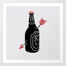 Heartbreak Art Print