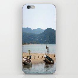 The Kite Surfers Beach Akyaka Turkey iPhone Skin