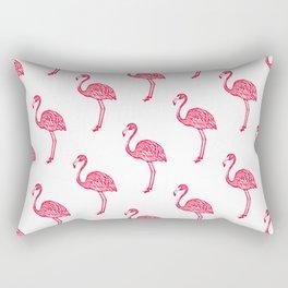 American Flamingo (pink) Rectangular Pillow