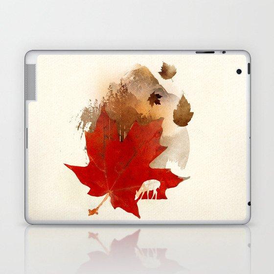 Autmn is coming Laptop & iPad Skin