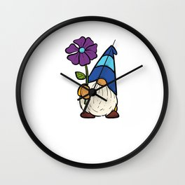 Gnomad Funny Gardener Gift Wall Clock
