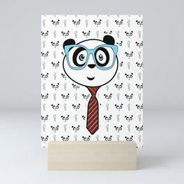 Panda Nerd Mini Art Print