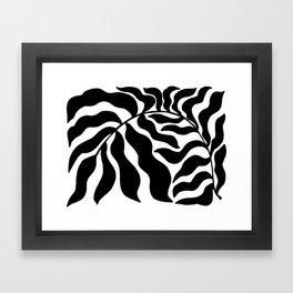 Reach | Black & White Framed Art Print