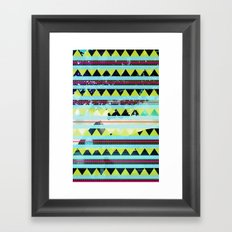 Ethnic Rio Framed Art Print