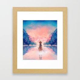 KH Framed Art Print