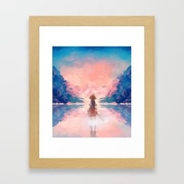 KH Framed Art Print