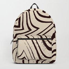 Zebra Grunge 3 Backpack