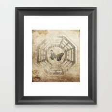The Butterfly Initiative Framed Art Print