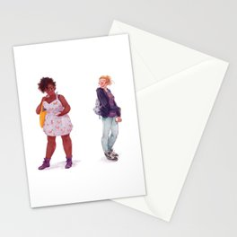 Tess and Claire Stationery Cards