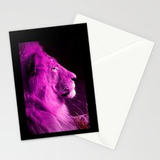 Pretty Kitty in Purple Stationery Cards
