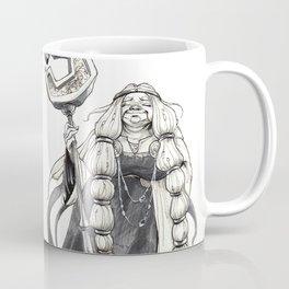 "Inktober 2017 #16 ""The Old Sorceress"" Coffee Mug"