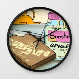 Spread the Sunshine Wall Clock