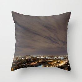 City Nights. Throw Pillow
