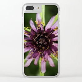 Star Flower Clear iPhone Case