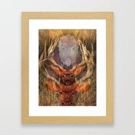 OH DEER! OH DEER! Framed Art Print