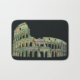 Colosseum Collage Bath Mat