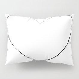 """ Love Collection "" - Heart Pillow Sham"