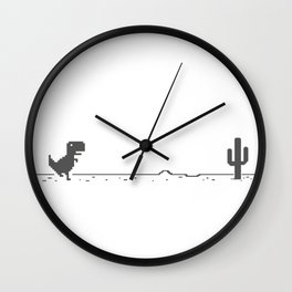 Dino Game Wall Clock