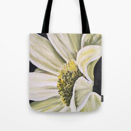 daisy flower acrylic painting Tote Bag