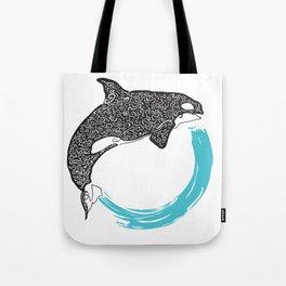 Orca Circle Tote Bag